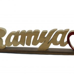 Customised Wooden Name Plate Stand