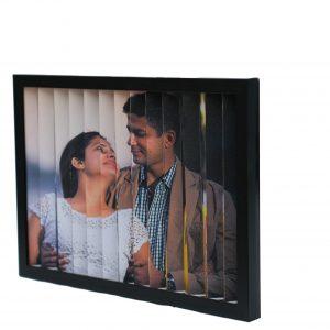 two sided flip 3d frame