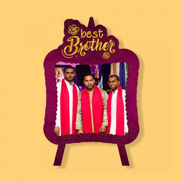 Best Brother - Fancy Photo Frame