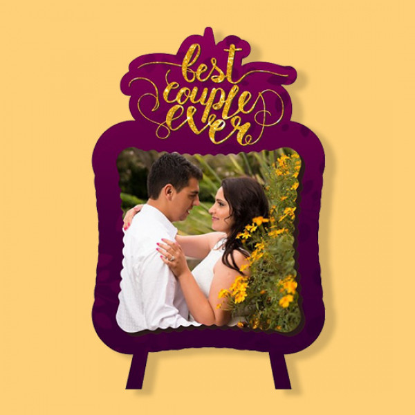 Best Couple Ever - Fancy Photo Frame
