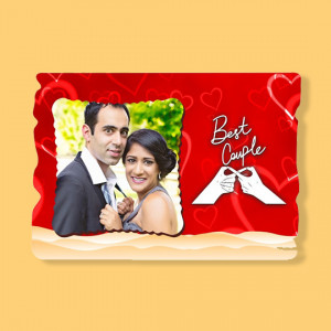 Best Couple - Fancy Photo Frame