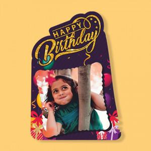 Birthday - Fancy Photo Frame
