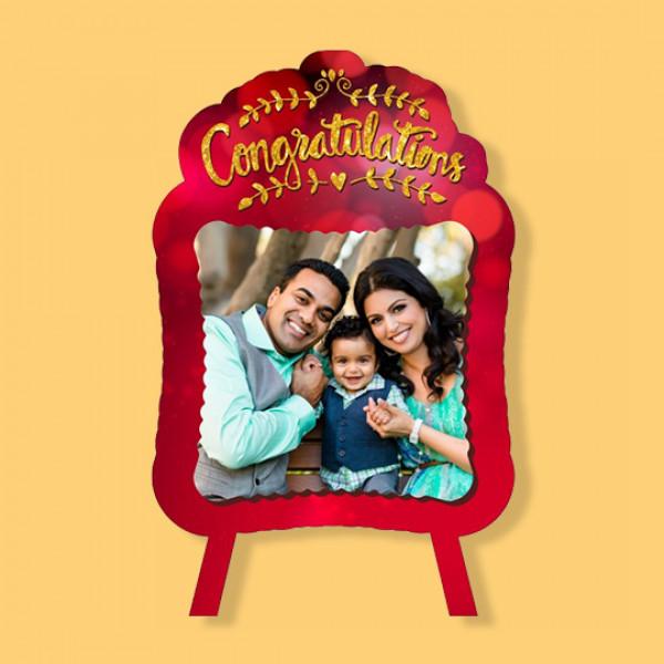 Congratulation - Fancy Photo Frame