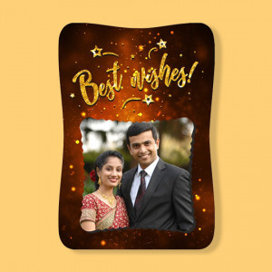 Fancy Photo Frame - Best Wishes