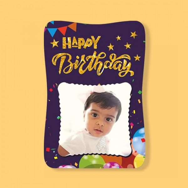 Fancy Photo Frame - Little Birthday