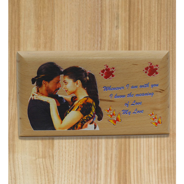 Wood Frame Colour Uv Print