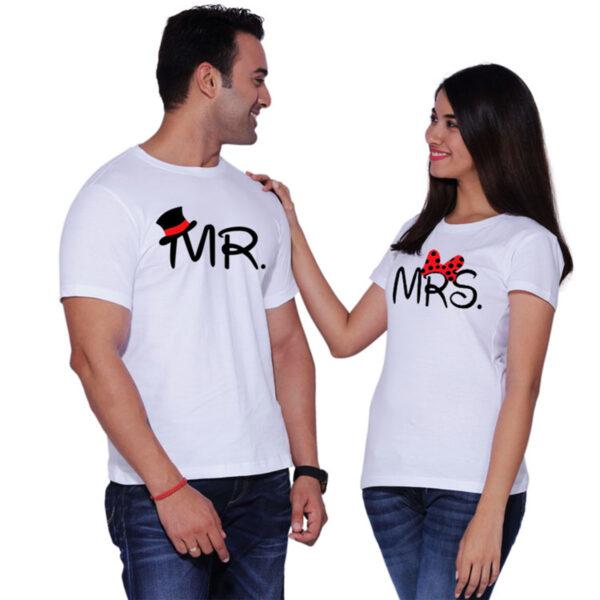 Customized T-Shirt Couple Set