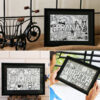 Personalized Doodle art