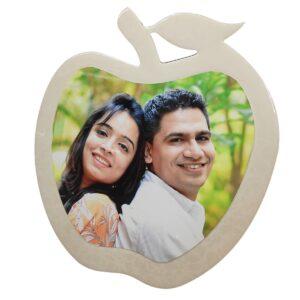 Classic apple shape frame