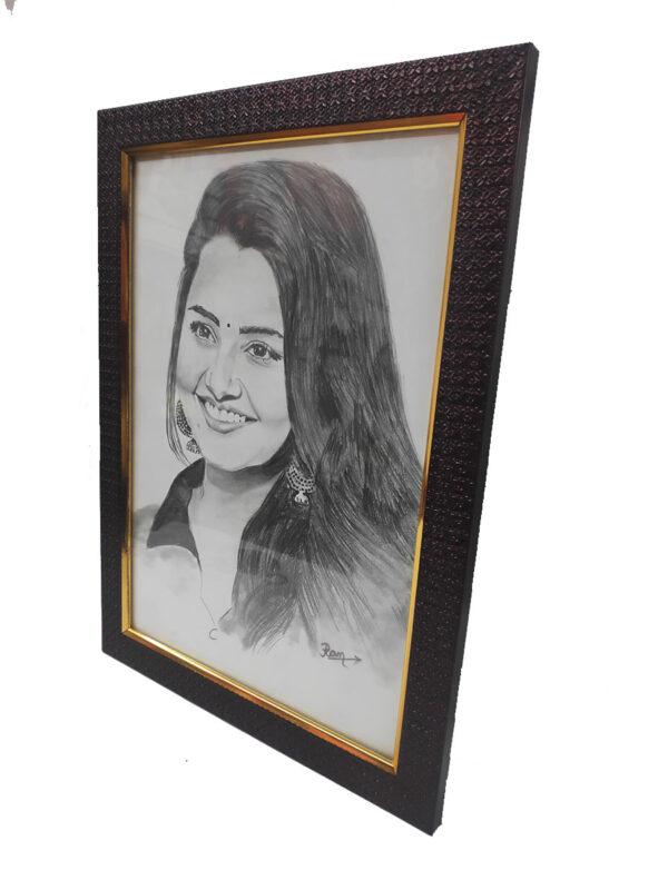 Pencil Sketch Frame