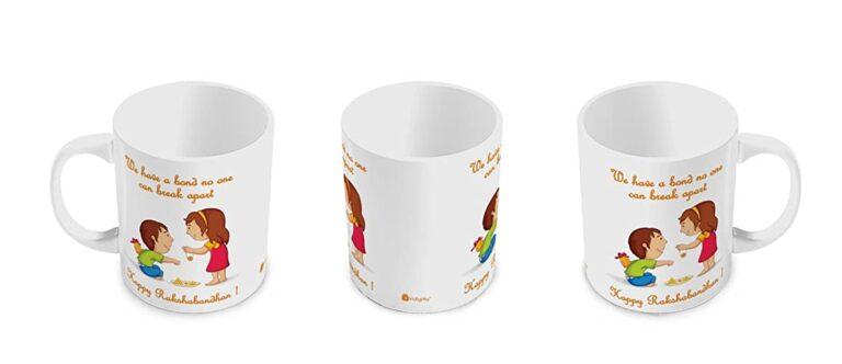 Raksha Bandhan Customized Mug