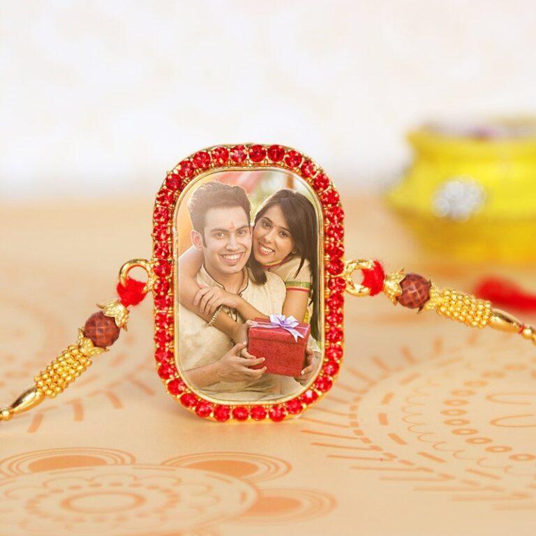 Customised Photo Rakhi