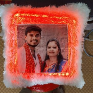 Personalised Led pillow